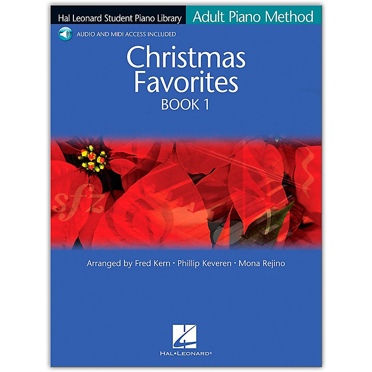 Hal LeonardChristmas Favorites Book/Online Audio 1 Adult Piano Method Hal Leonard Student Piano Library Book/Online Audio