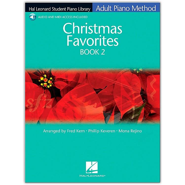 Hal LeonardChristmas Favorites Book/Online Audio 2 Adult Piano Method Hal Leonard Student Piano Library Book/Online Audio