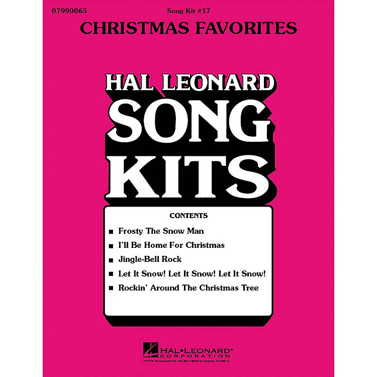 Hal Leonard Christmas Favorites (Song Kit #17) ShowTrax CD Arranged by Dick Averre