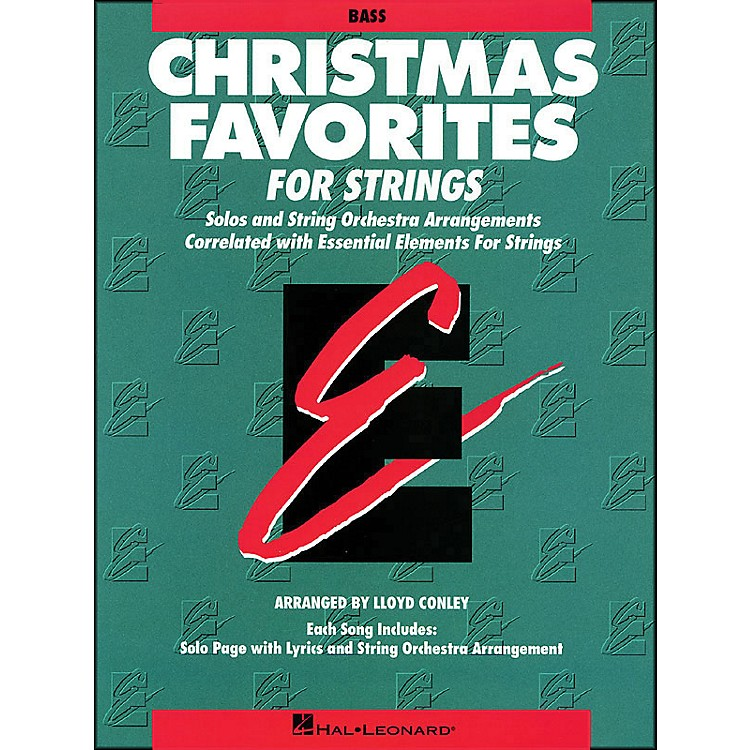 Hal LeonardChristmas Favorites String Bass Essential Elements