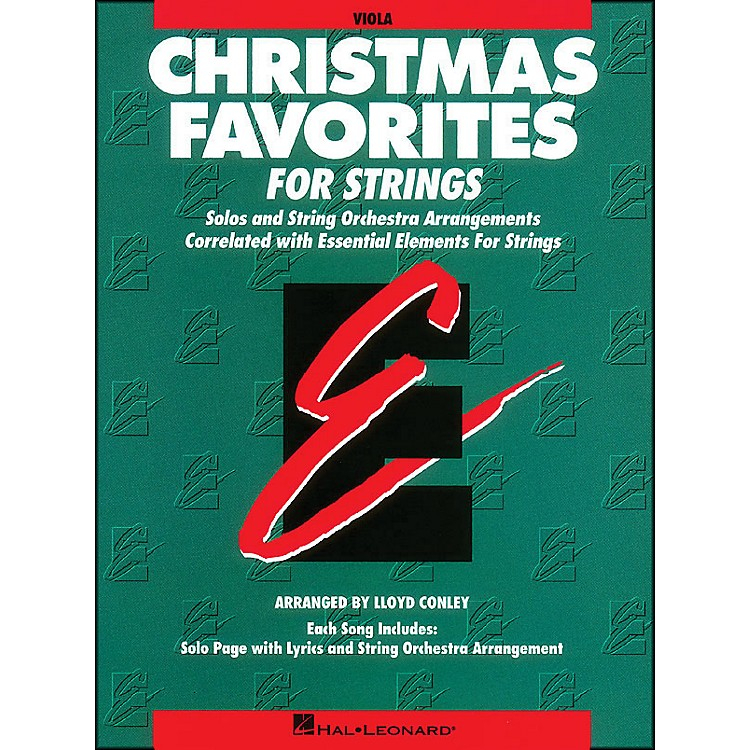 Hal Leonard Christmas Favorites Viola Essential Elements