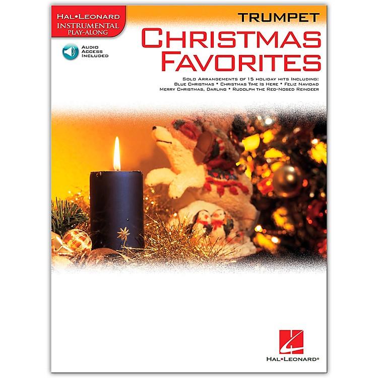 Hal LeonardChristmas Favorites for Trumpet Book/Online Audio Instrumental Play-Along