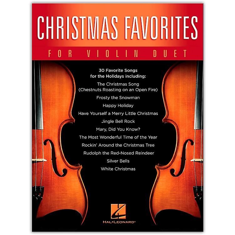 Hal LeonardChristmas Favorites for Violin Duet Songbook