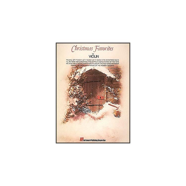 Hal LeonardChristmas Favorites for Violin