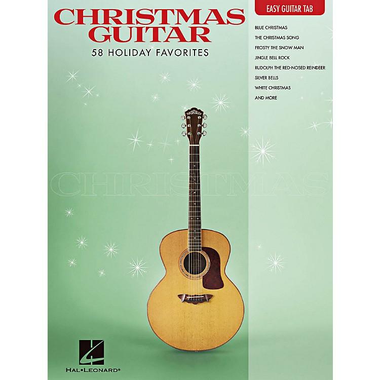 Hal LeonardChristmas Guitar -Easy Guitar Tab