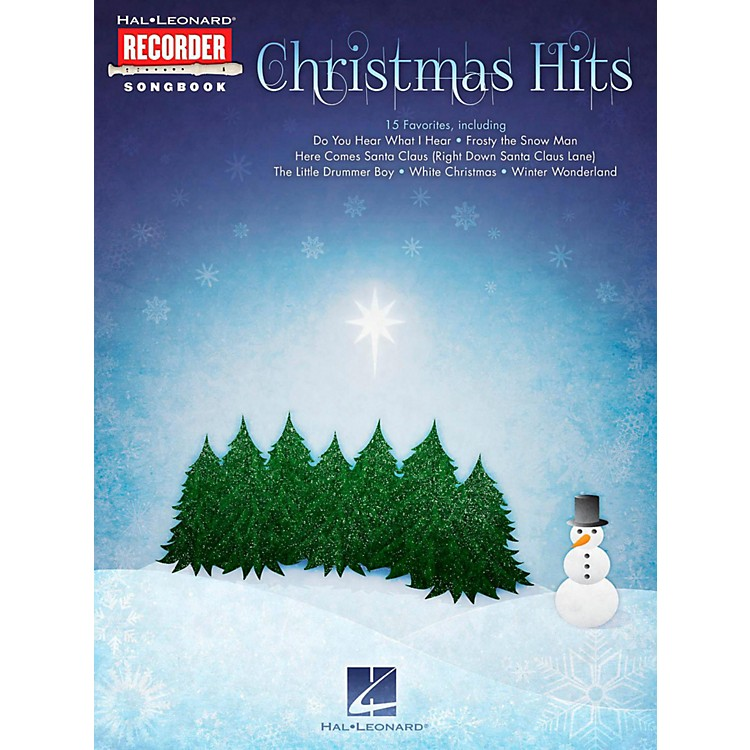 Hal LeonardChristmas Hits - Hal Leonard Recorder Songbook