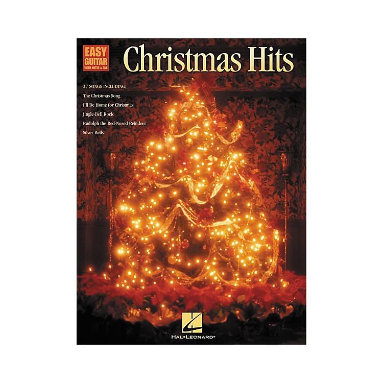 Hal LeonardChristmas Hits Easy Guitar Tab Songbook