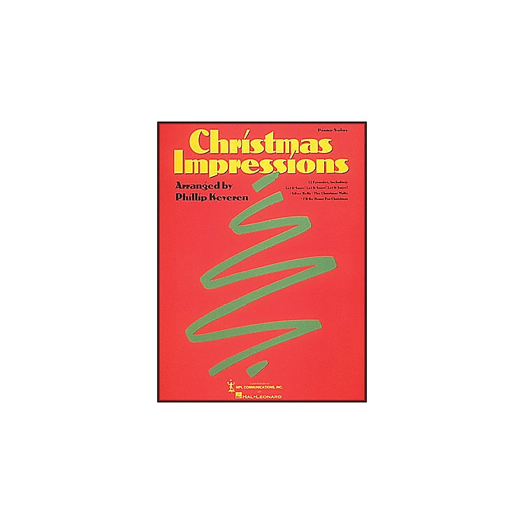 Hal LeonardChristmas Impressions arranged for piano solo