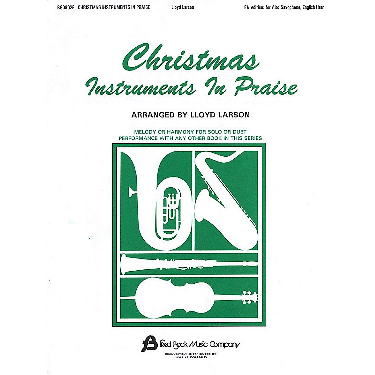 Fred Bock MusicChristmas Instruments in Praise Instructional Series