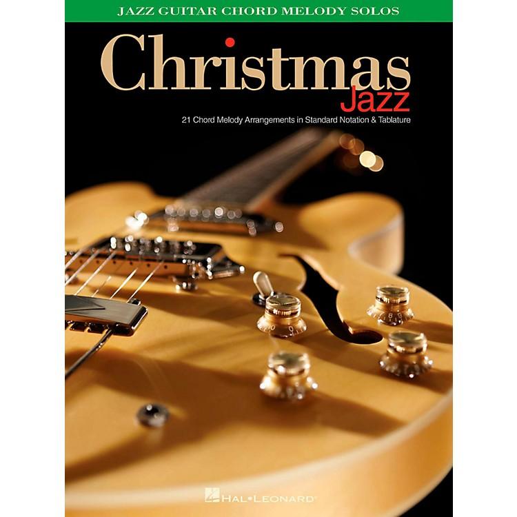 Hal LeonardChristmas Jazz - Jazz Guitar Chord Melody Solos