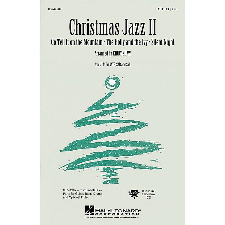 Hal LeonardChristmas Jazz II (Collection) SSA Arranged by Kirby Shaw