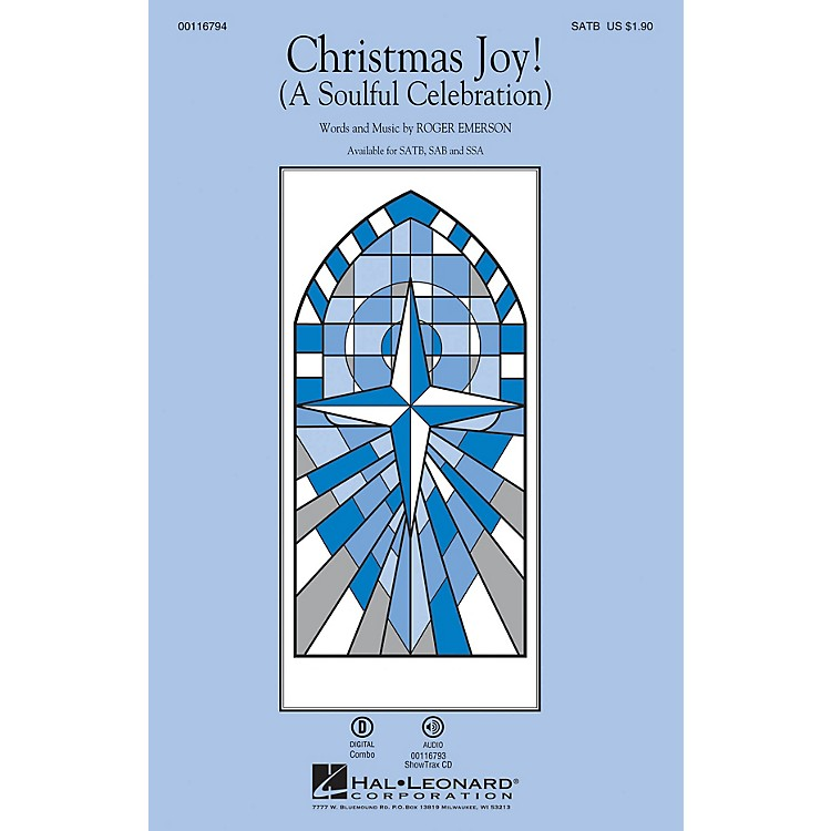 Hal LeonardChristmas Joy! (A Soulful Celebration) ShowTrax CD Composed by Roger Emerson