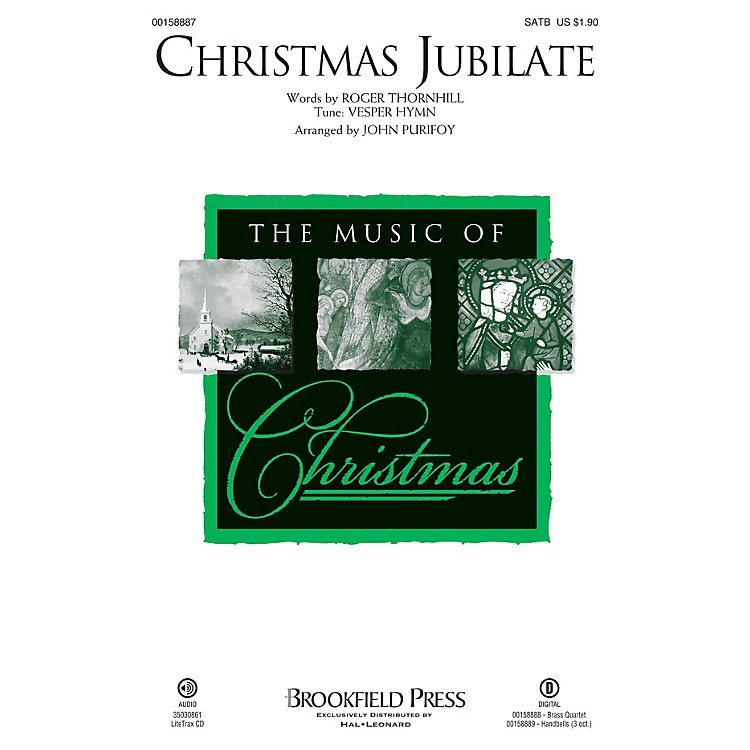 Brookfield Christmas Jubilate SATB arranged by John Purifoy