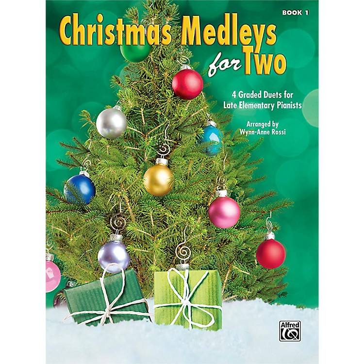 Alfred Christmas Medleys for Two, Book 1 Late Elementary