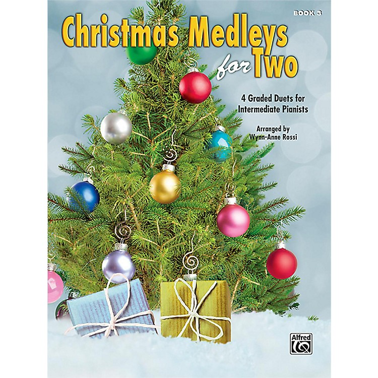 AlfredChristmas Medleys for Two, Book 3 Intermediate