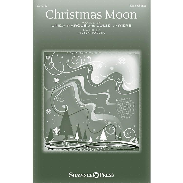Shawnee PressChristmas Moon SATB composed by Hyun Kook