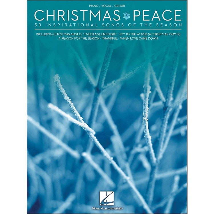 Hal LeonardChristmas Peace - 30 Inspirational Songs Of The Season arranged for piano, vocal, and guitar (P/V/G)