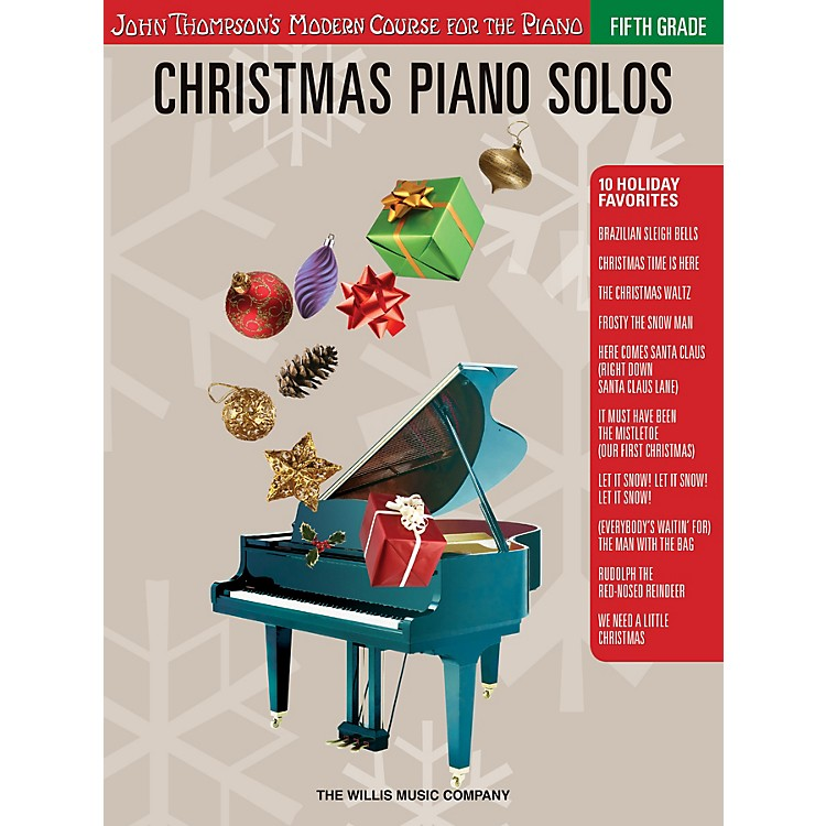 Willis MusicChristmas Piano Solos - Fifth Grade (Book Only) Willis Series Softcover Composed by Various