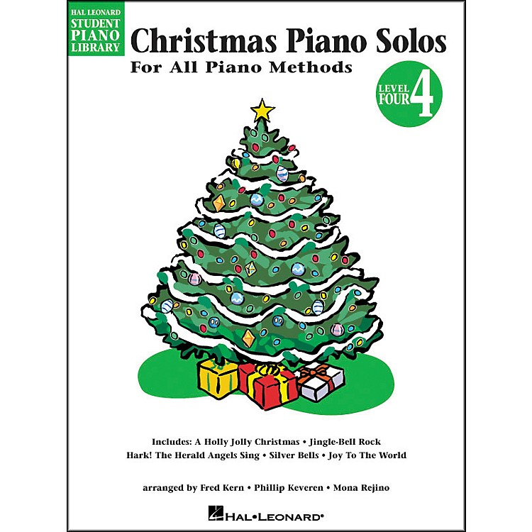 Hal LeonardChristmas Piano Solos Book 4 Hal Leonard Student Piano Library
