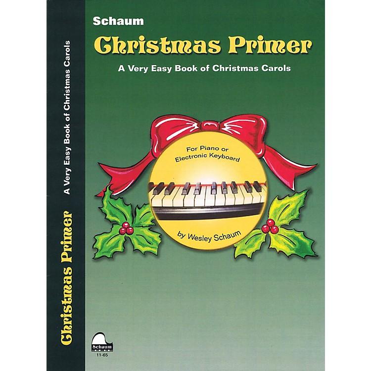 SCHAUMChristmas Primer (Primer Level Early Elem Level) Educational Piano Book