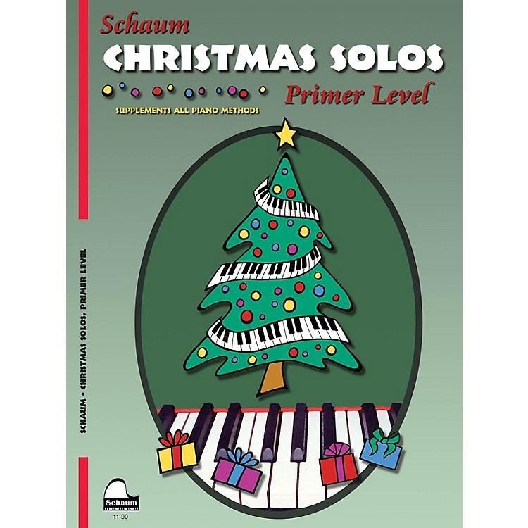 SCHAUMChristmas Solos (Primer Level Early Elem Level) Educational Piano Book