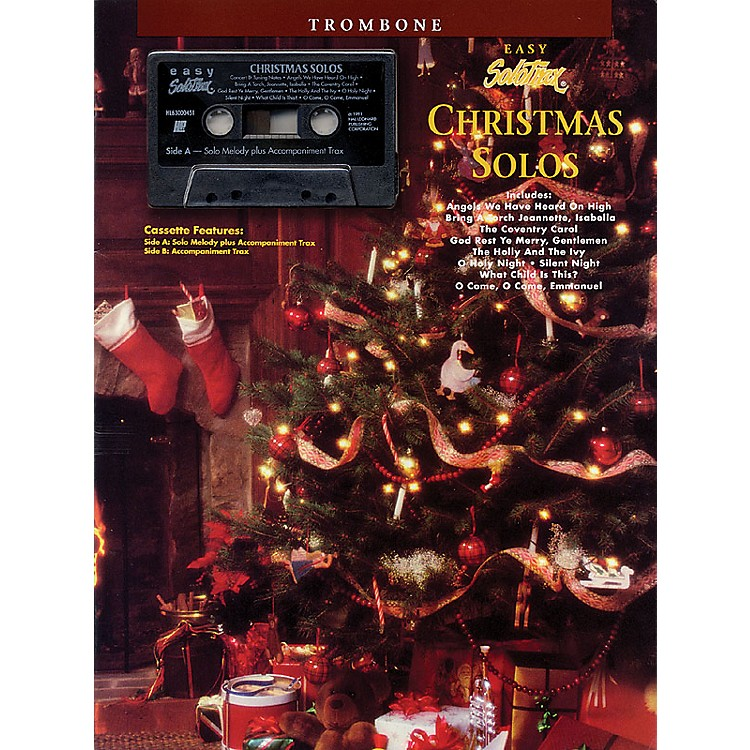 Hal LeonardChristmas Solos (Trombone) Solo Trax Series Performed by Various