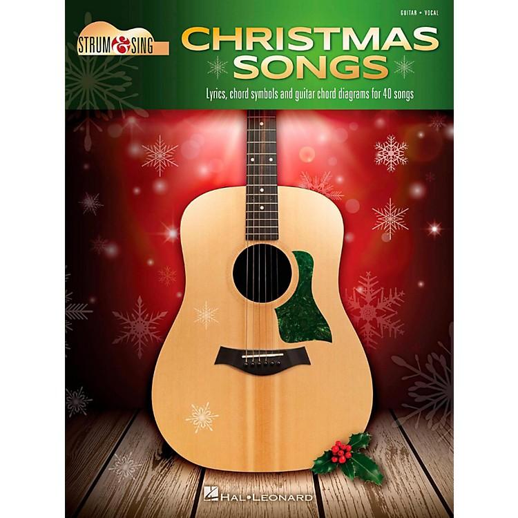 Hal LeonardChristmas Songs - Strum & Sing Guitar