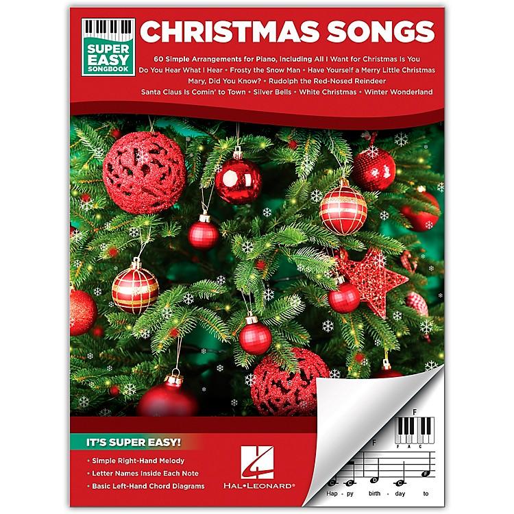 Hal LeonardChristmas Songs - Super Easy Songbook