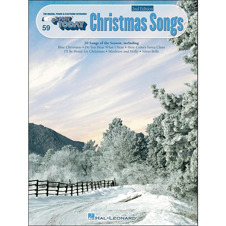 Hal LeonardChristmas Songs 3rd Edition E-Z Play 59
