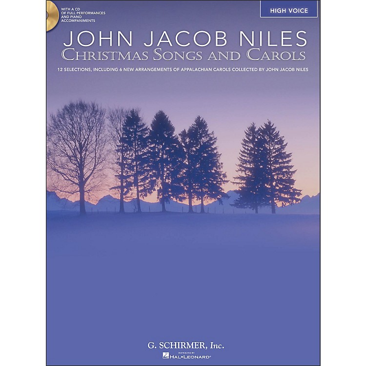 Hal LeonardChristmas Songs And Carols for High Voice Book/CD