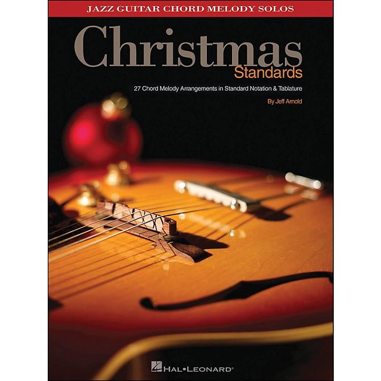 Hal LeonardChristmas Standards Jazz Guitar Chord Melody Solos