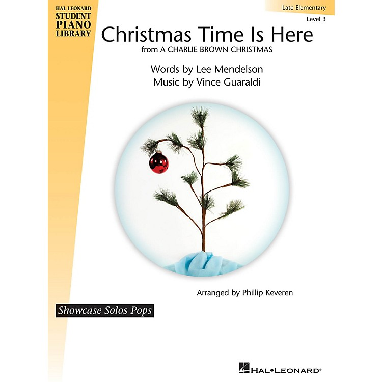 Hal LeonardChristmas Time Is Here Piano Library Series (Level Late Elem)