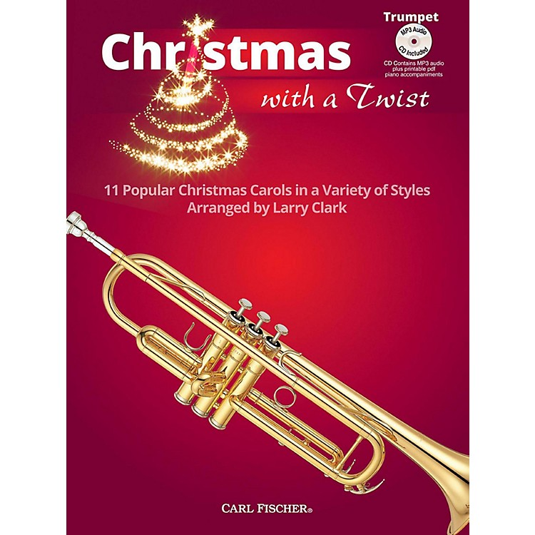 Carl FischerChristmas With A Twist Book with CD - Trumpet