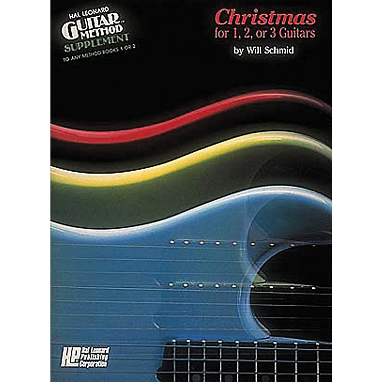 Hal LeonardChristmas for 1, 2, or 3 Guitars Method Book