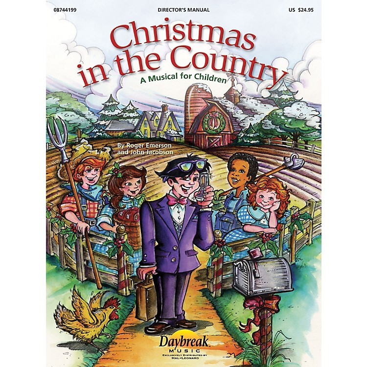 Daybreak MusicChristmas in the Country CHOIRTRAX CD Composed by Roger Emerson