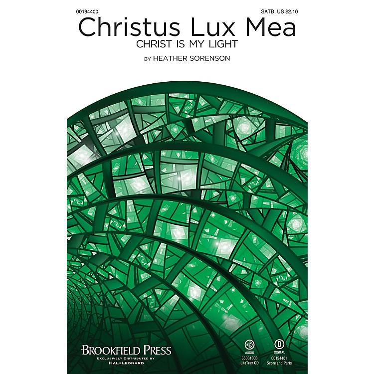 BrookfieldChristus Lux Mea (Christ Is My Light) SATB composed by Heather Sorenson