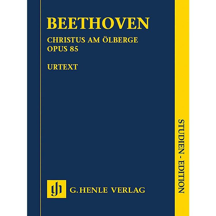 G. Henle VerlagChristus am Ölberge, Op. 85 Henle Study Scores by Ludwig van Beethoven Edited by Anja Mühlenweg