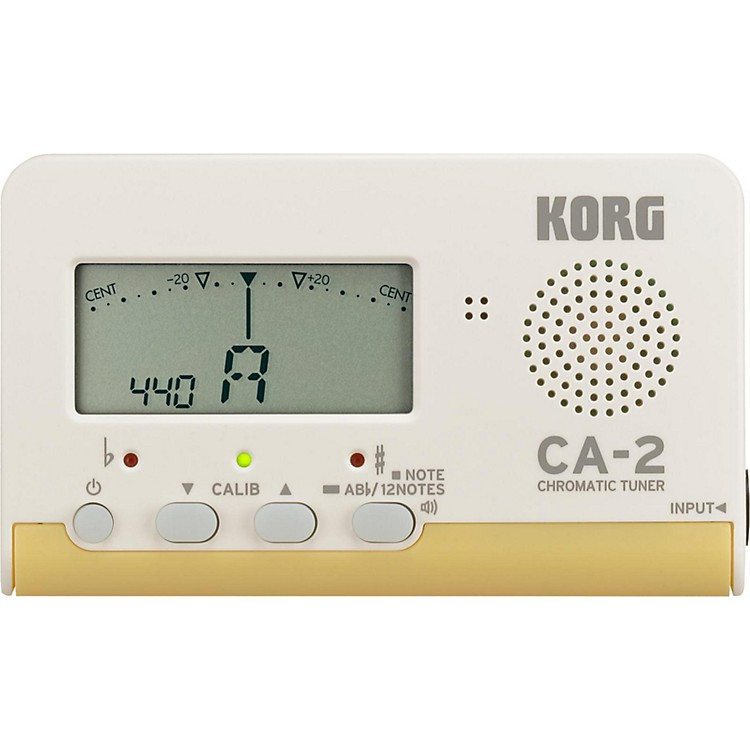 Korg Chromatic Tuner White