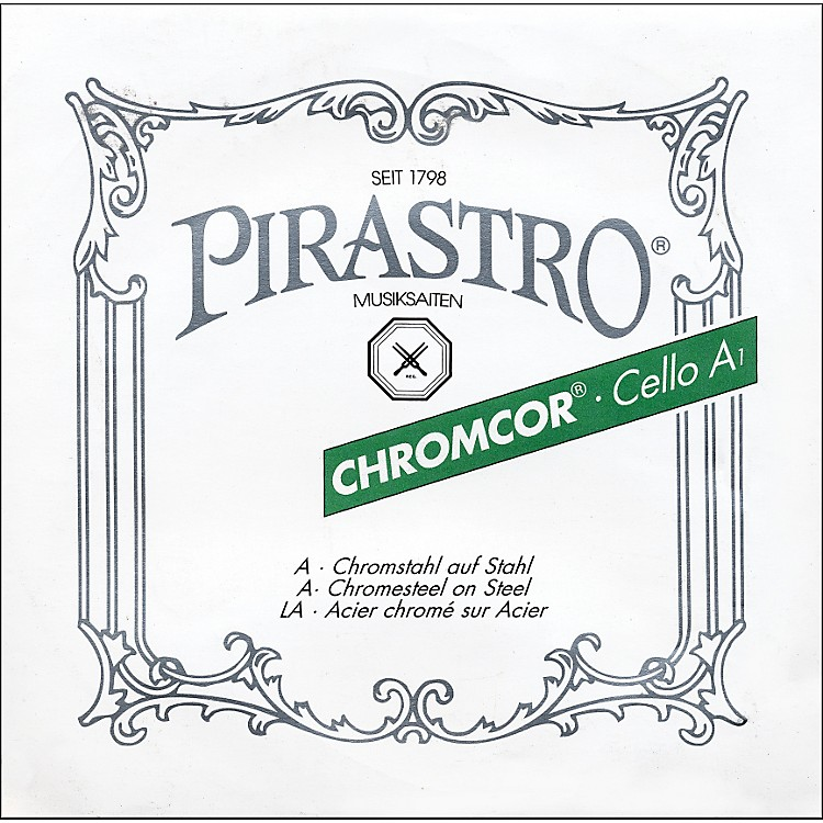 Pirastro Chromcor 4/4 Size Cello Strings