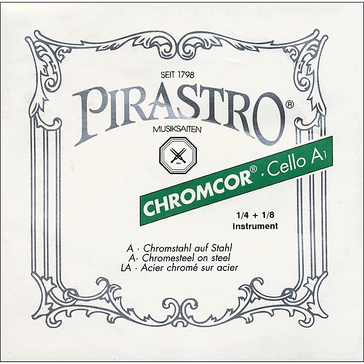 Pirastro Chromcor Series Cello A String 1/4-1/8