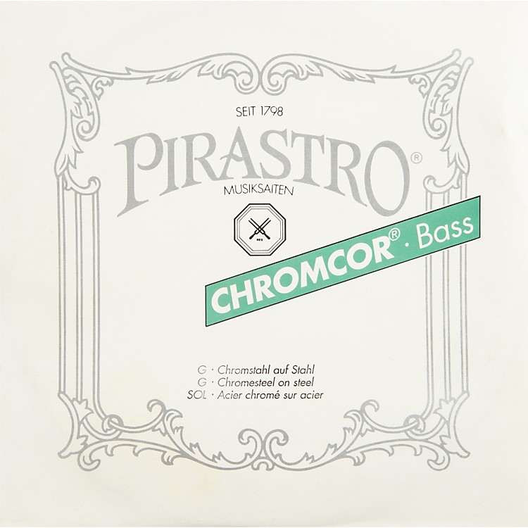 PirastroChromcor Series Double Bass G String3/4-1/2