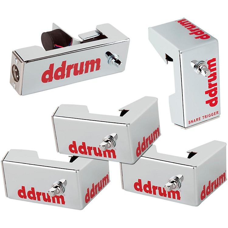 DdrumChrome Elite Advanced Engineered Drum Triggers - 5-Piece SetChrome