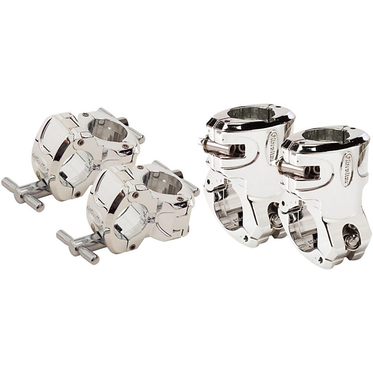 Gibraltar Chrome Series Right Angle and Quick Release T-Leg Clamp Package  888365720678
