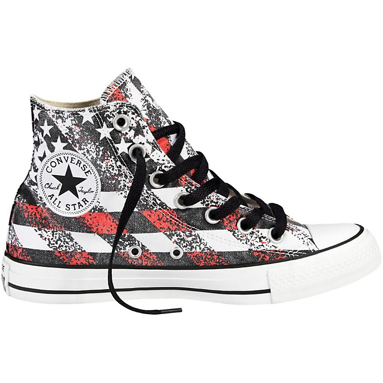 Converse Chuck Taylor All Star Hi-Top Washed Flag Print Men's Size 8