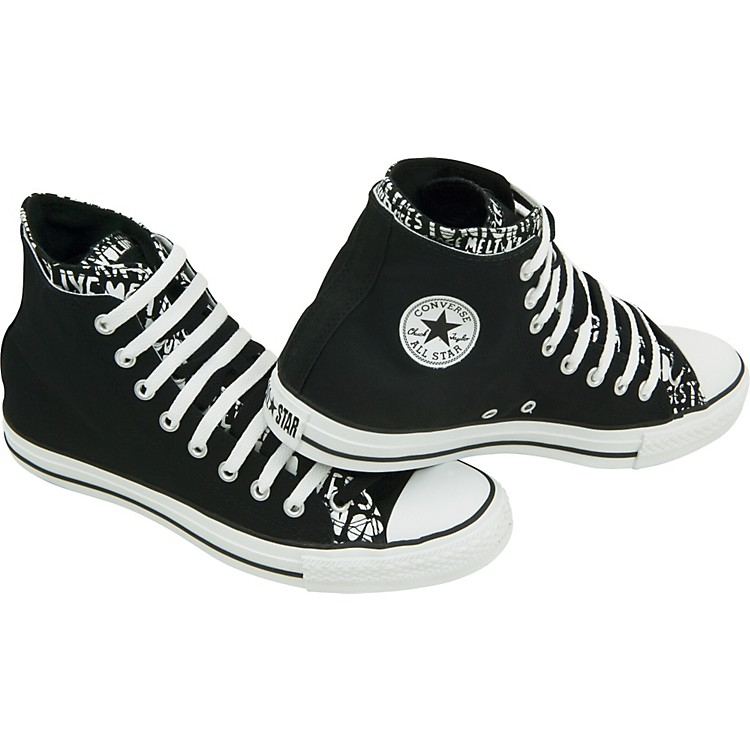 ConverseChuck Taylor All Star High Top Double Upper Live Fast Shoes