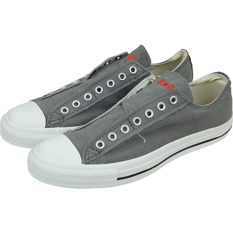 converse chuck taylor all star slip ons charcoal spicy orange. Black Bedroom Furniture Sets. Home Design Ideas