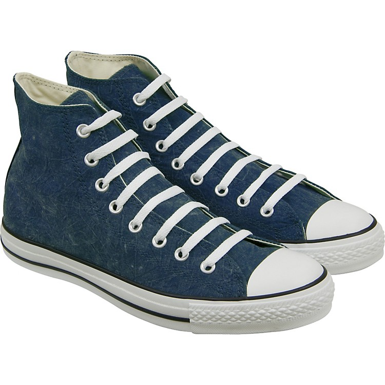 Converse Chuck Taylor All Star Vintage Hi-Top Sneakers (Blue)