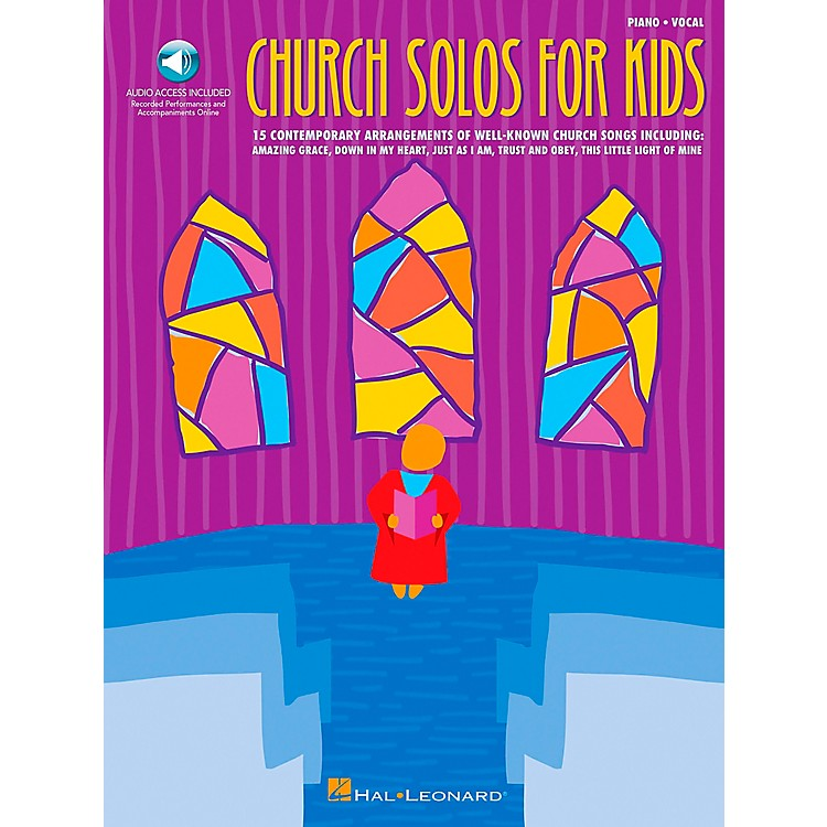 Hal Leonard Church Solos for Kids Book/CD
