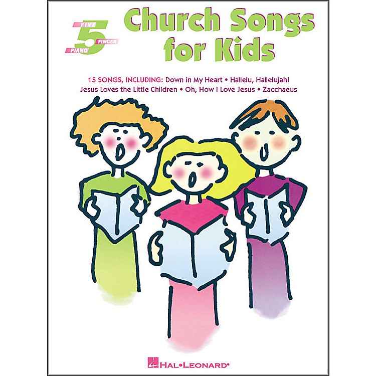 Hal LeonardChurch Songs for Kids for Five Finger Piano