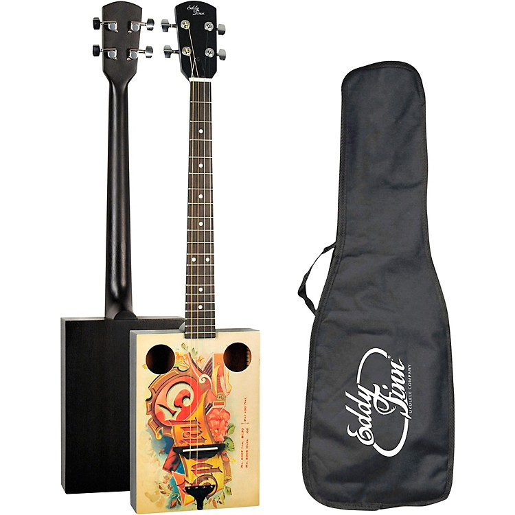 Eddy FinnCigar Box Acoustic GuitarNatural